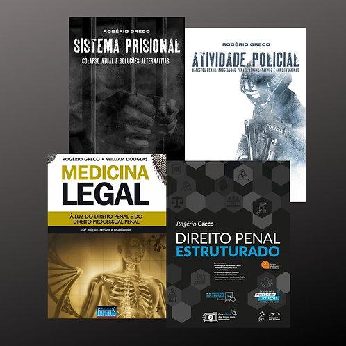 ATIVIDADE POLICIAL + MEDICINA LEGAL + SISTEMA PRISIONAL + DIREITOPENAL ESTRUTURA
