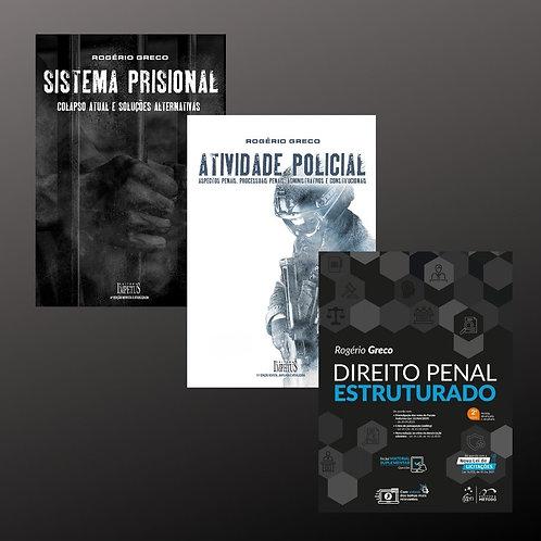 ATIVIDADE POLICIAL  + SISTEMA PRISIONAL + DIREITOPENAL ESTRUTURADO