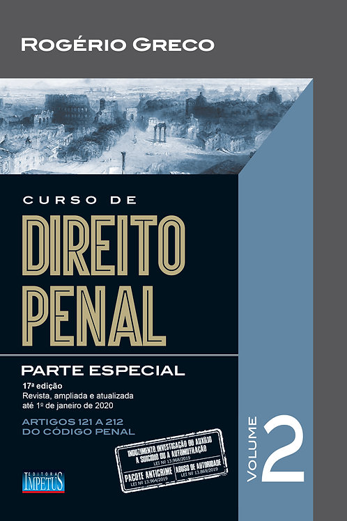 CURSO DE DIREITO PENAL - PARTE ESPECIAL - VOL. II