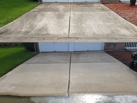 Deer Park Concrete Cleaning