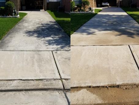Pearland Driveway and Sidewalk