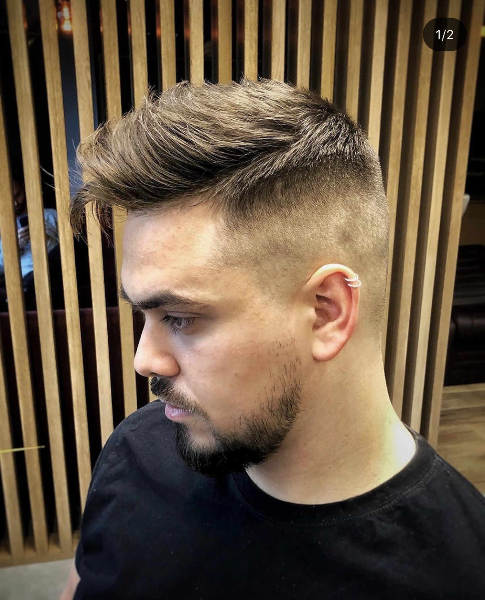Praktyczna fryzura męska