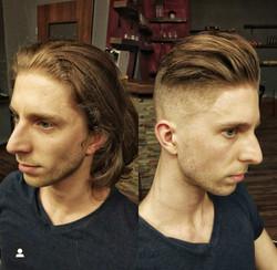 Metamorfoza fryzury męskiej