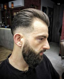 Klasyczna fryzura męska