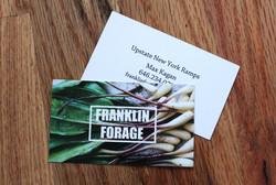 Franklin Forage Business Cards