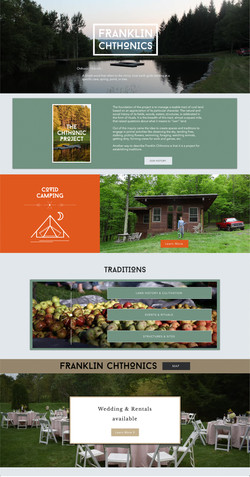 Franklin Chthonics Landing Page