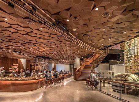 Starbucks ouvre son plus grand café imprimé en 3D