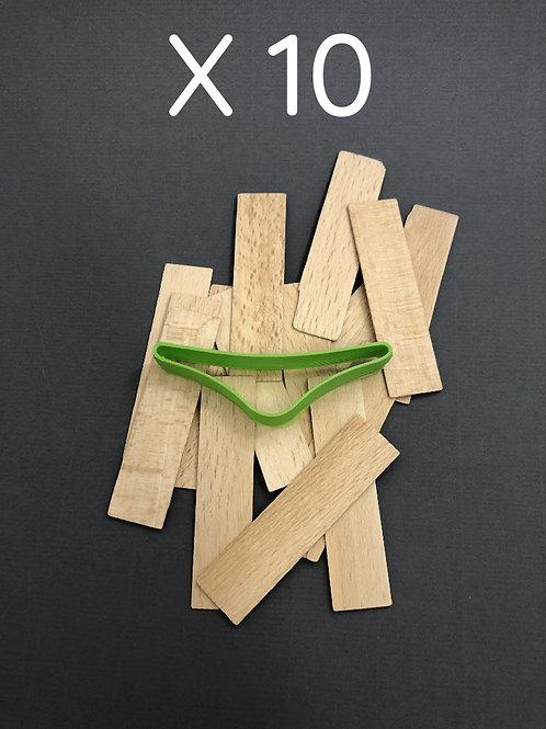 Ouvre livre x10