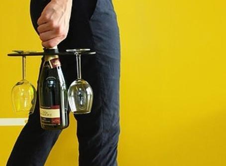 Objet de la semaine : Porte verres de vins