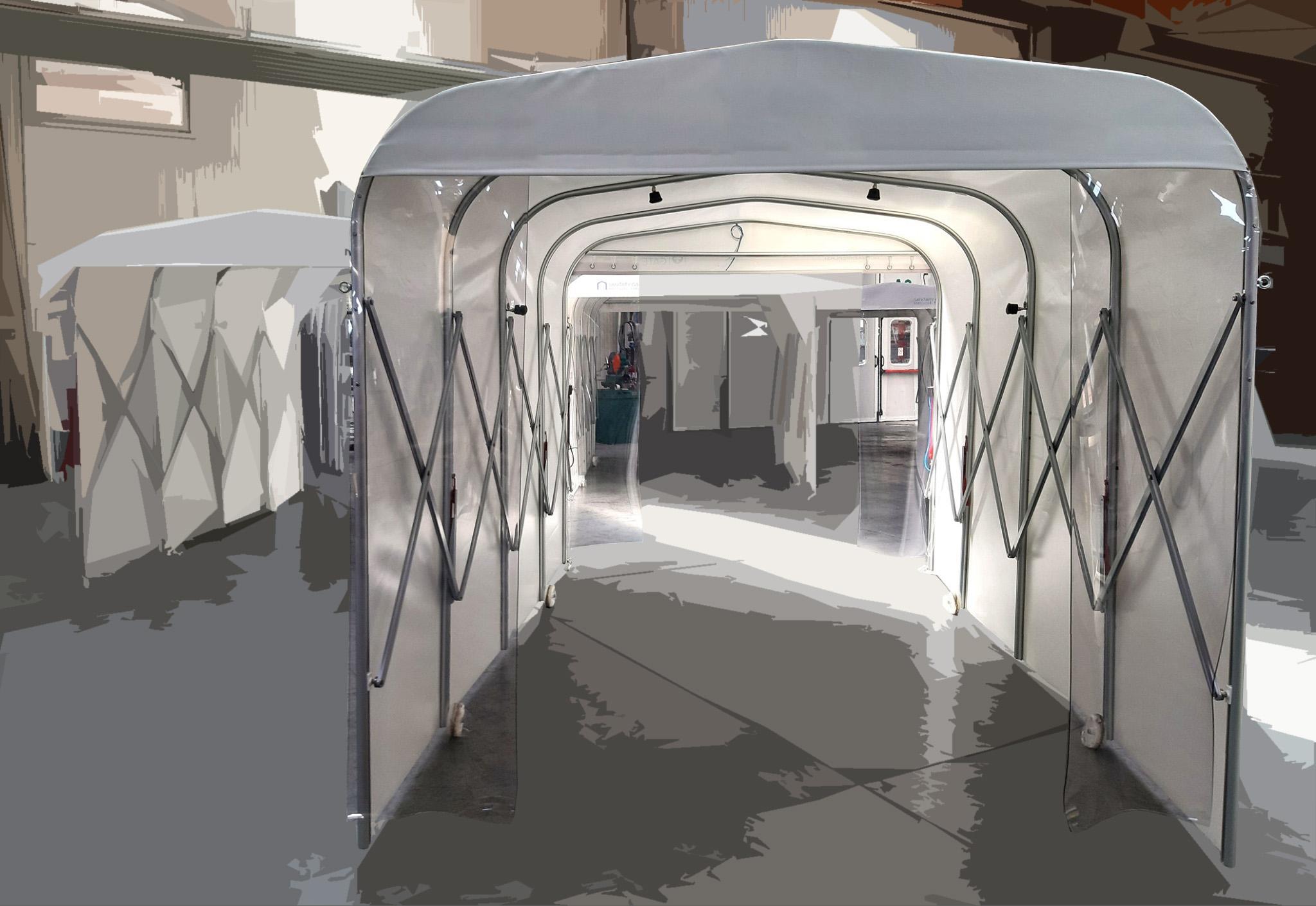 tunel sanitizador