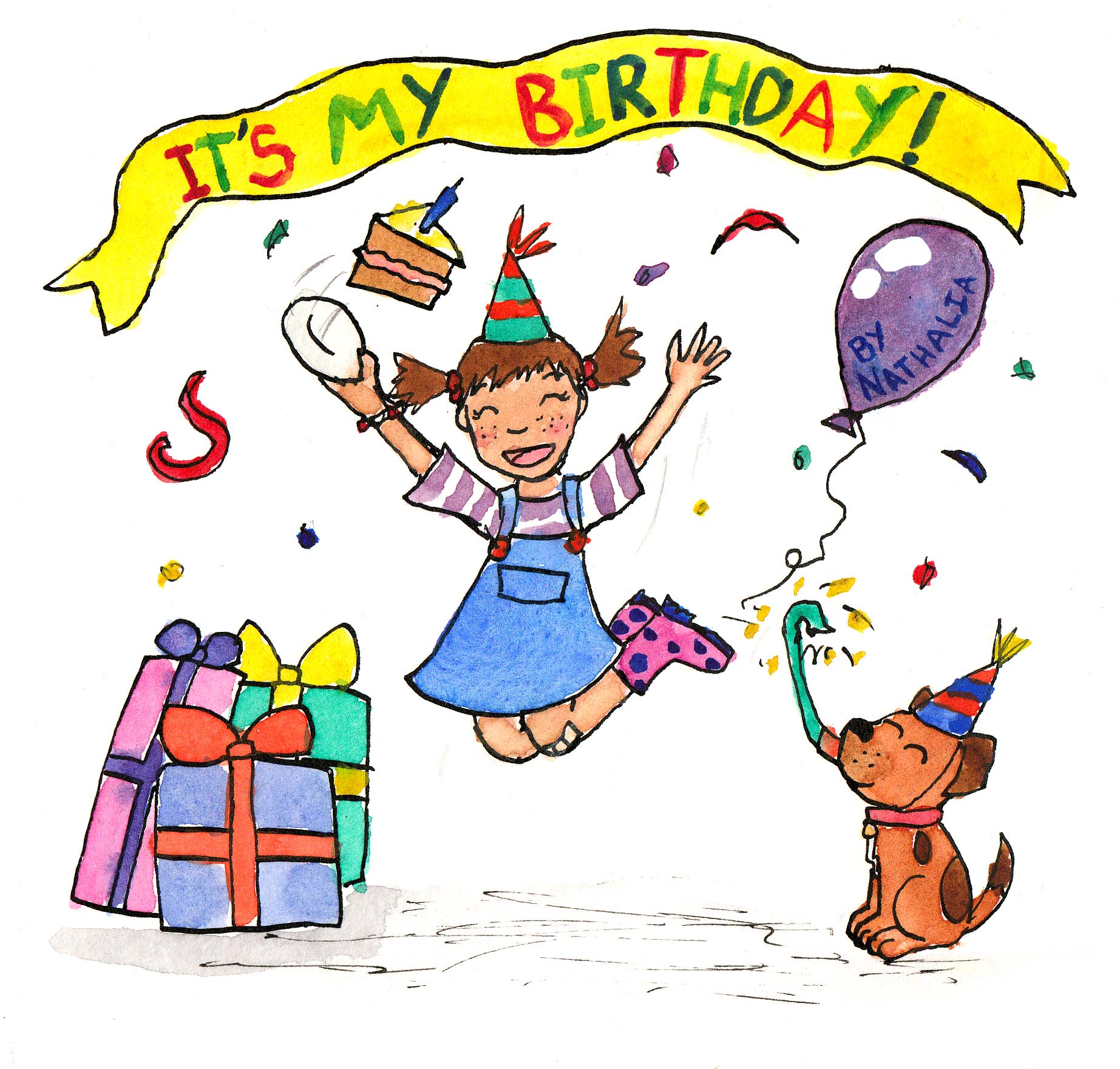 Its my birthday small