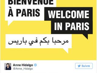 Attentat de Paris : Hidalgo conspuée sur Twitter !