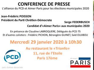 CONFERENCE DE PRESSE PCD / AIMERPARIS