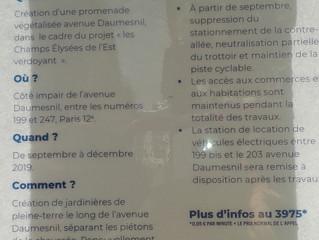 12ème arrondissement : le saccage continue