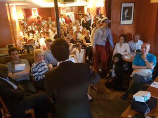 1ère réunion d'Aimer Paris : la presse et les photos rendent compte d'un grand succès !