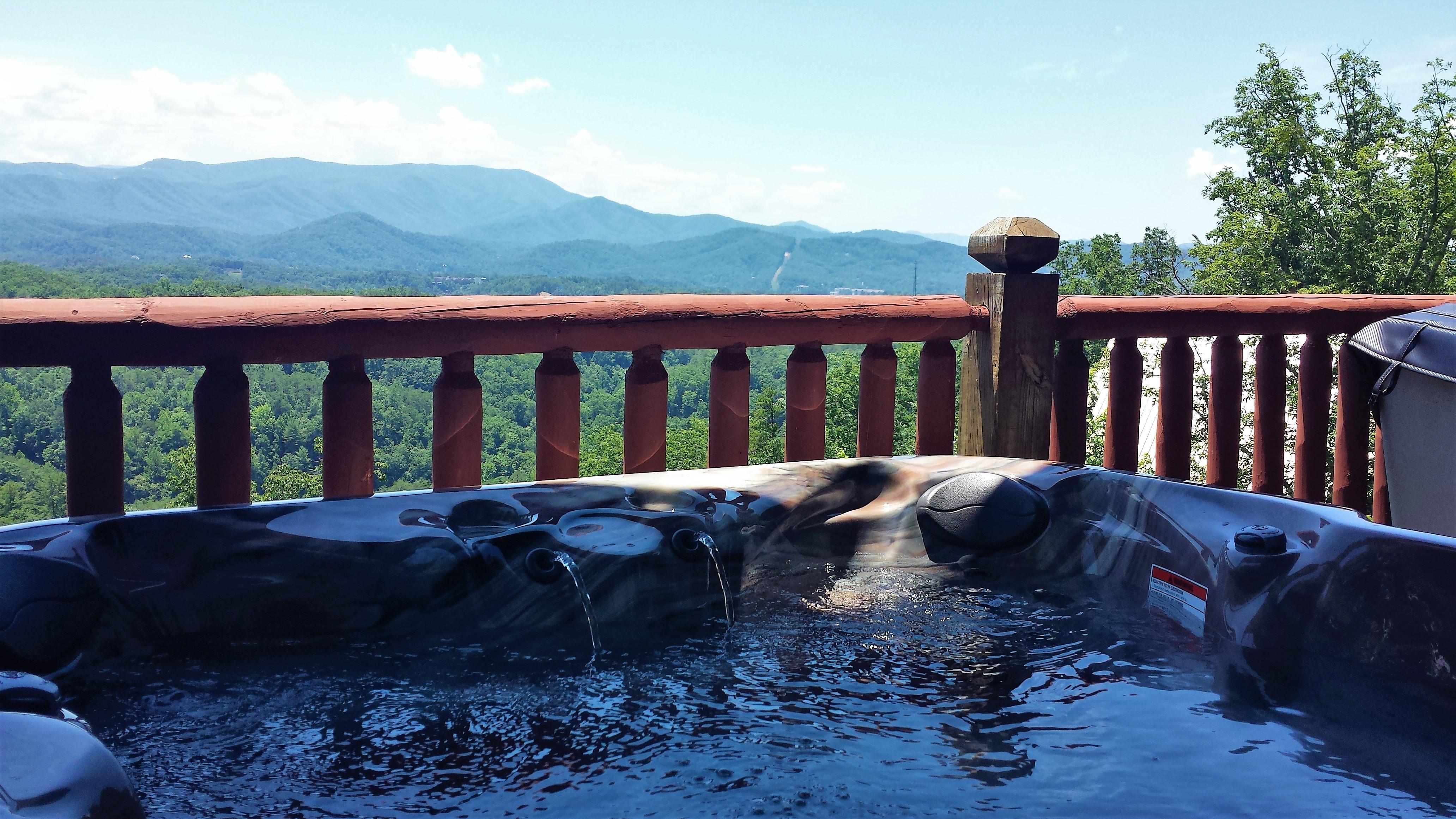 Peaks new hot tub