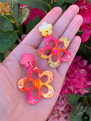 Blossom Flower ( Style 1 - Pink and Yellow )