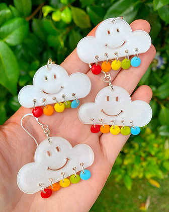 Happy Clouds ( Pearl White Finish )