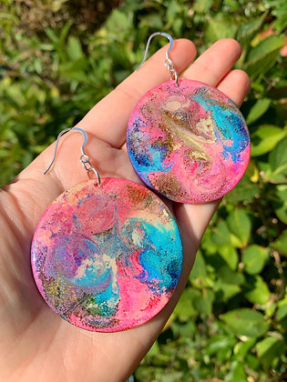 Abstract Earrings ( Blossom )