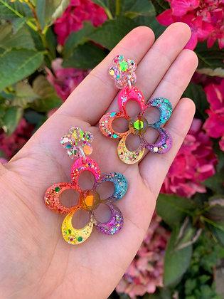 Blossom Flower ( Style 1 - Rainbow )