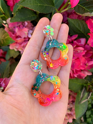 Blossom Flower ( Style 2 - Rainbow )