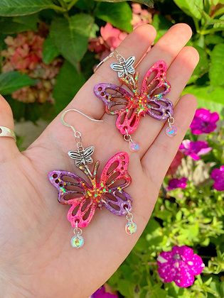 Butterfly Magic ( Pink and Purple )
