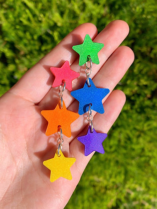 Rainbow Star Drops