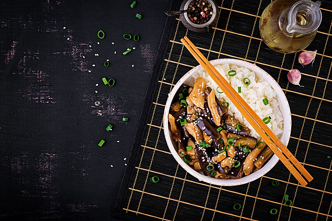 stir-fry-with-chicken-eggplant-and-boile