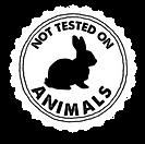 Cruelty Free Not Tesed on Animals