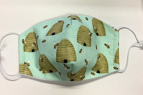 Face Mask - Beehive pattern (BH051)