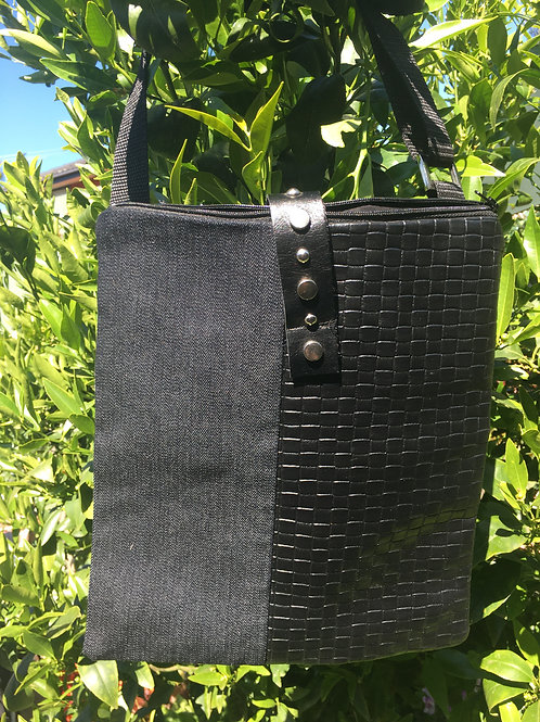 Walking Bag (sustainable repurposed materials)