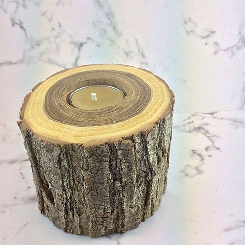 Blackwood Candle (large) with Pure Beeswax