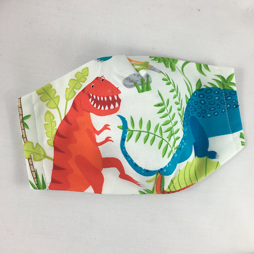 Fabric face mask - TRex - small