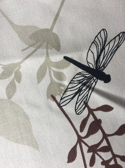 Botanical Collection fabric face mask (dragonfly)