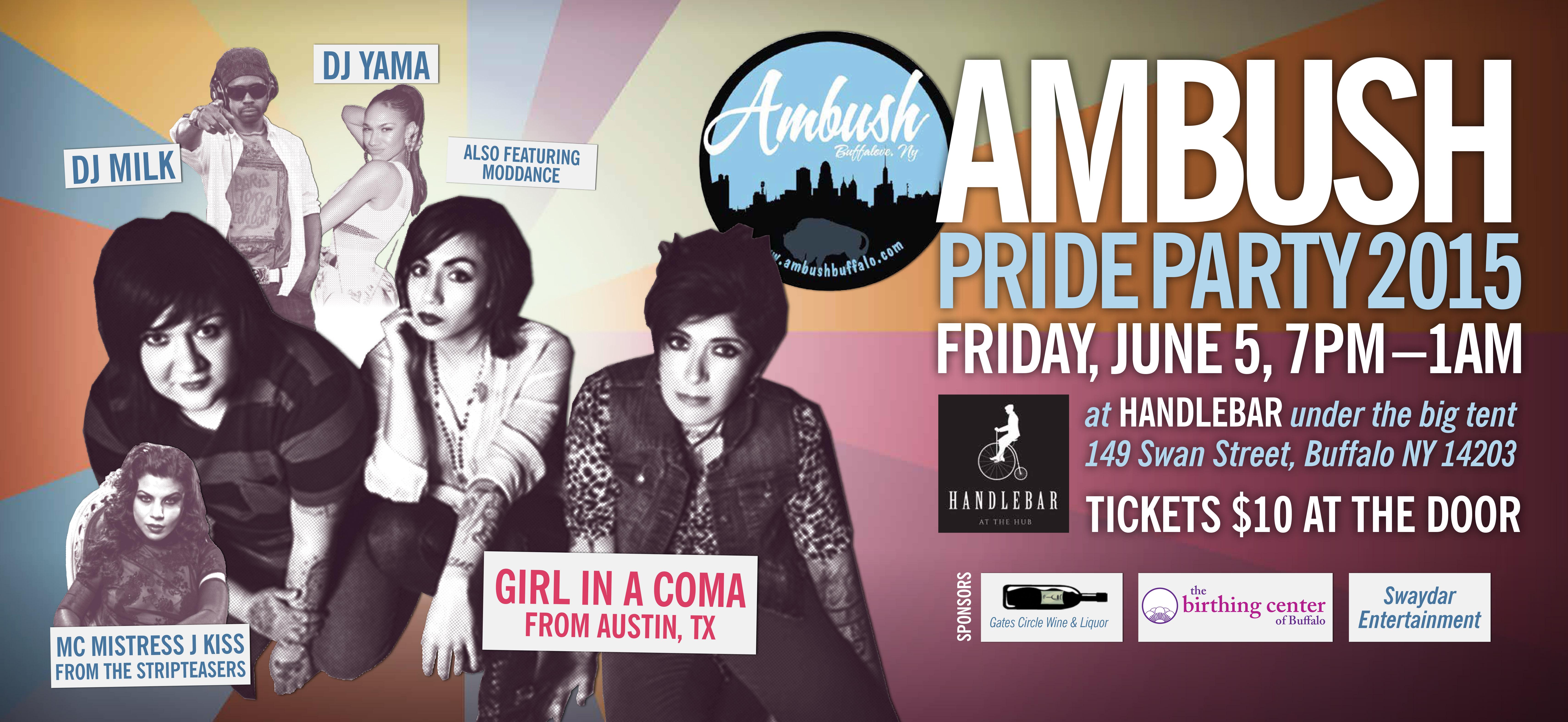 Ambush Pride 2015