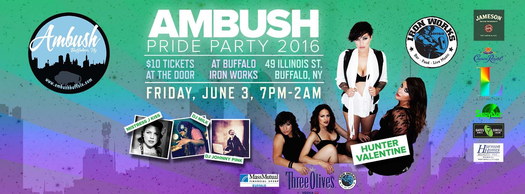 Ambush Pride 2016