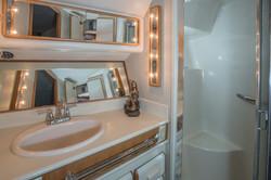 Bathroom in yacht