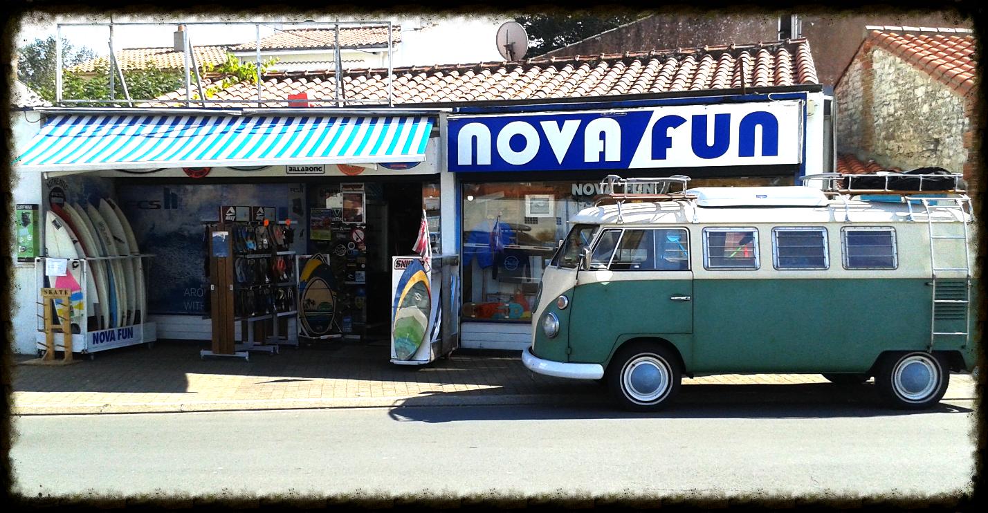 vintage wv van nova fun