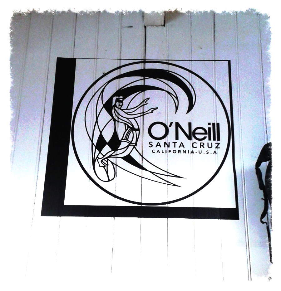 O'neill sign à nova fun surfshop