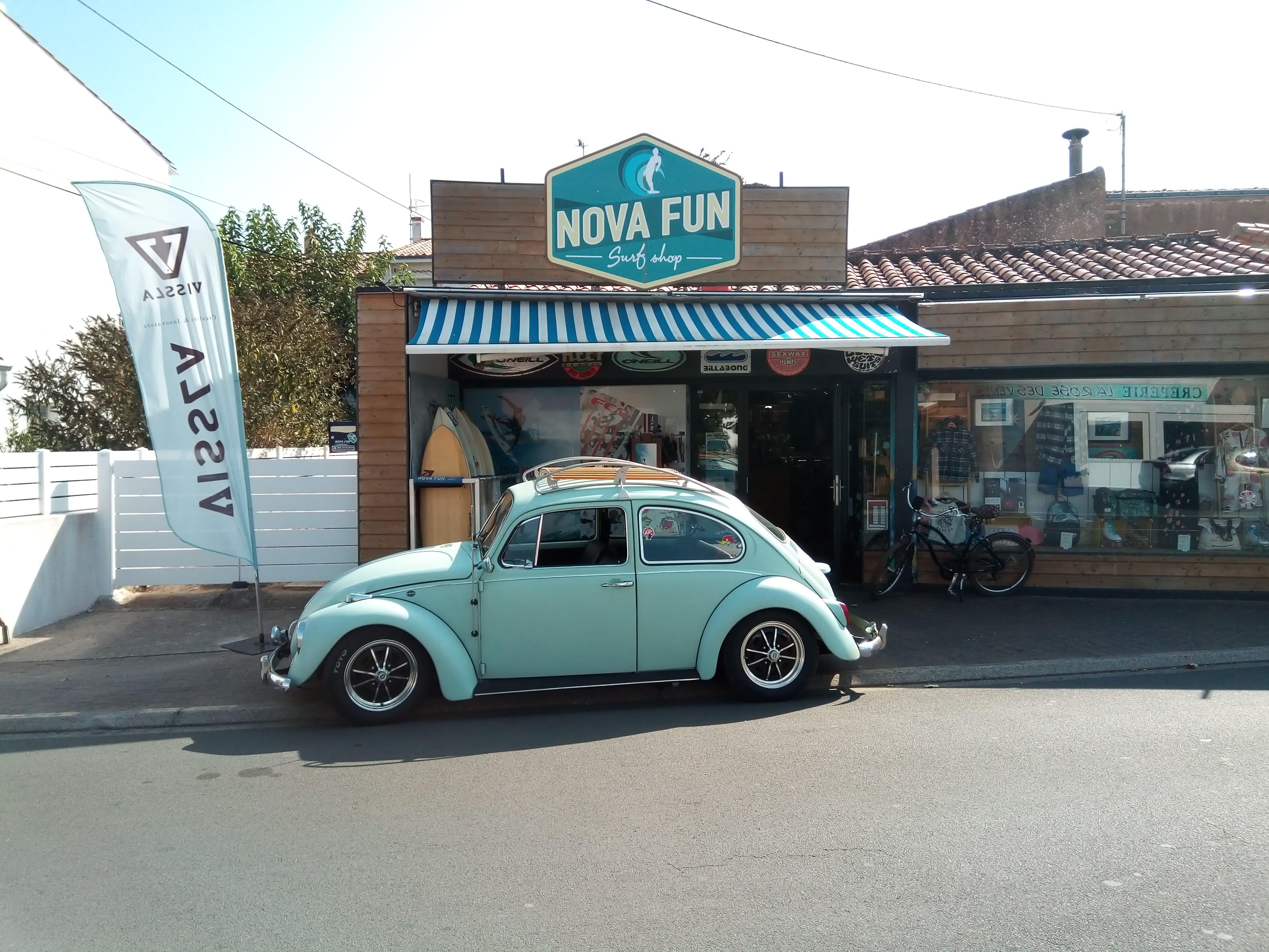 bettle nova fun surf shop
