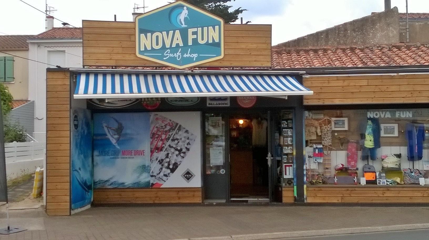 nova fun surfshop la tranche s/mer