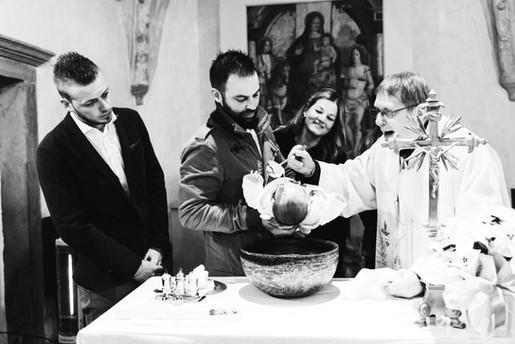 Il Battesimo di Aaron
