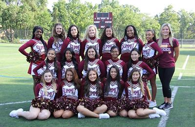 Summit High School cheerleaders