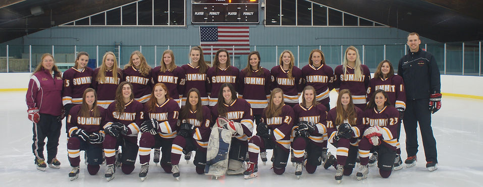 Summit High School womens hockey team