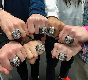 Summit High School sports rings