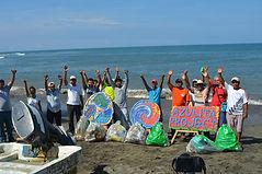Mexico beach clean up