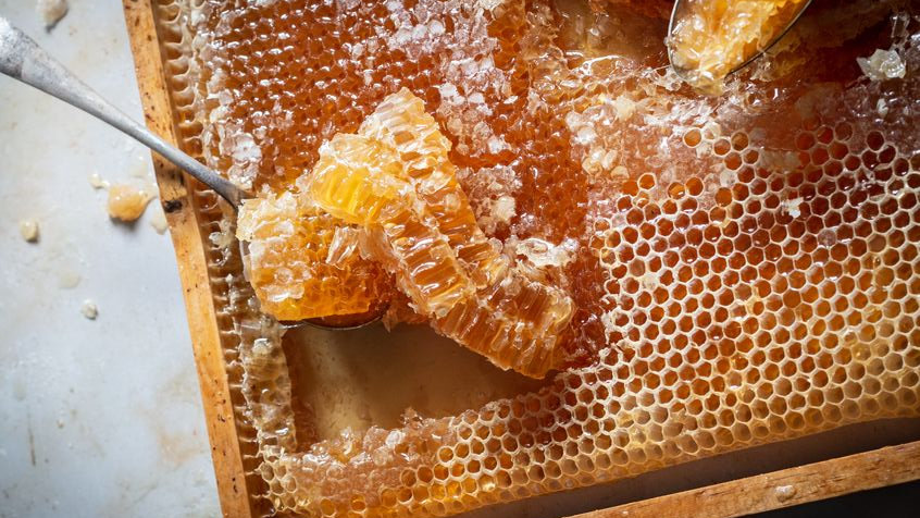 Raw Local Honey / Lost & Found Farm