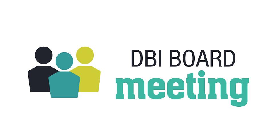 DBI Board Meeting