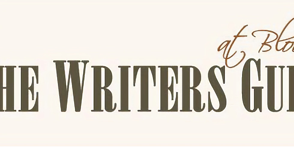 Writers Guild Poetry Reading & Open Mic – September