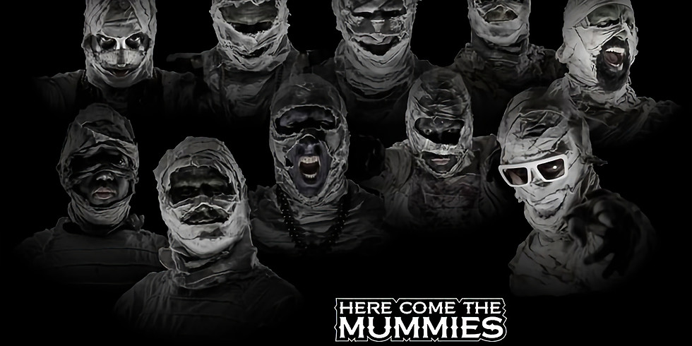 Here Come the Mummies + Derick Howard